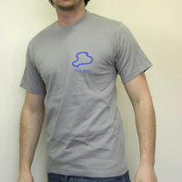 AROMA T-SHIRT SOLID GREY
