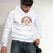 Ancient Astronauts Hoodie (White)