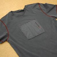 Black Hole Shirt (washed blue)