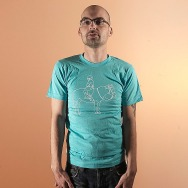 Mos Ferry Horse Logo Shirt (Blue)