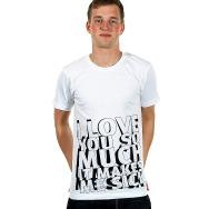 I Love You So Much Shirt (white)