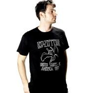 Led Zeppelin - USA 1977 Shirt (Black)