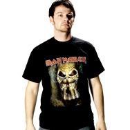 Iron Maiden - Eddie Finger Shirt (BLack)