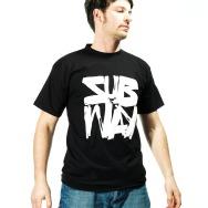 Subway Logo Shirt (Black)