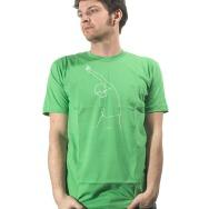 Mos Ferry Finger Logo Shirt (Green)