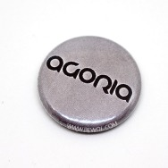Agoria Button (Silver)