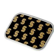 Dollar Signs Belt Buckle (10x 6 cm)