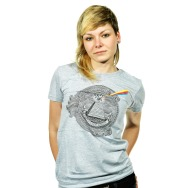 Sety - Sweet & Sour Logo Girl Shirt (Heater Gray)