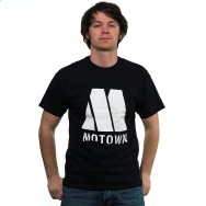 Motown Classic Logo Shirt (Black)