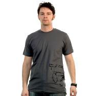 Wagon Repair Side Logo Shirt (Asphalt)
