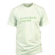 I Play Vinyl Shirt (Light Green / Green Print)