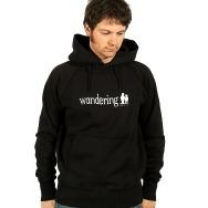 Wandering Music Logo Hoodie (Black)