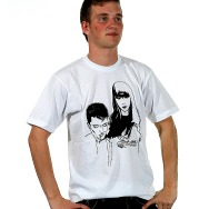 Miss Kittin & the Hacker - Unlimited Shirt (White)