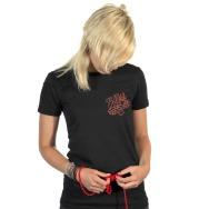 Miss Kittin & the Hacker - Tour 2009 Girl Shirt (Black)