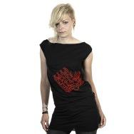 Miss Kittin & the Hacker - Logo Dress (Black)