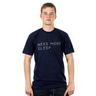 Need More Sleep Shirt (Navy)