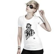 Girl Shirt 10 Years of Poker Flat Rec (White)