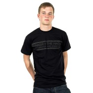 The Hague - Dirty Brown and Miserable Shirt (Black)