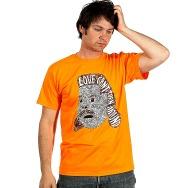 Love Cant Turn Around Shirt (Orange, incl. Maxi CD)