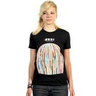 Rafale - Rock It, Dont Stop It- Cover Girl Shirt (Black)
