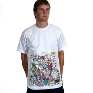Circus Company vs Tom & Leo / Samim  Shirt (White)