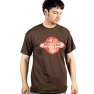 Intergalactic FM Logo Shirt (Brown)
