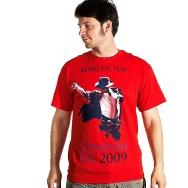 Michael Jackson - King of Pop Shirt (Red)
