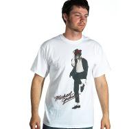 Michael Jackson - Dancer at Large Shirt (White)