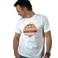 Kuduro Sound System Cover Shirt (White)