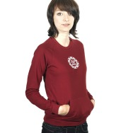 FAT Basic Girl Longsleeve (Cranberry)