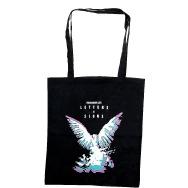 Northern Lite -Letter & Signs Jutebag (Black)