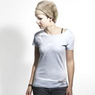 Chapeau Claque Girl Shirt Bird (Light Blue)