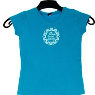 Youth FAT Girl Shirt (Blue)