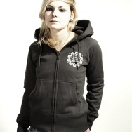 FAT Hooded Girl Jacket (Asphalt)