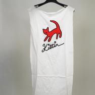 Miss Kittin Cat Dress (White)