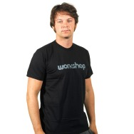 Workshop Logo Shirt (Black)