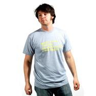Good Music I Dance Shirt (Yellow Print Heather Grey)