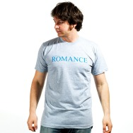 I came for romance (Heather Grey / Blue Print)