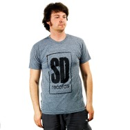 SD Records Logo Shirt (Asphalt)