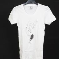 Girlshirt - Ellen Allien - Lover Girl Shirt (White)