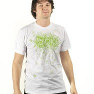 Bibio - Apple and Tooth Shirt (Green on White)