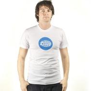 Warp Rec Shirt (Blue on White)