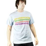 LCD Soundsystem Logo Shirt (Light Blue)