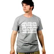 Bumtschick T-Shirt (Grey)