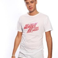 We can be Heroes Shirt (White / Ibiza 2011)