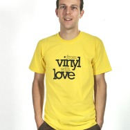From Vinyl with Love Shirt (Sunshine Yellow)