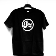 Soma Logo Shirt (Black / White Print)