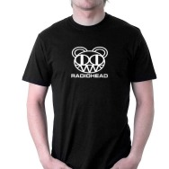 Radiohead Logo T-Shirt (Black)