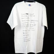 Running Back Tee Shirt (White Shirt - Black Print)