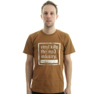 Vinyl Kills the MP3 Industry (Brown)